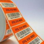 Samolepiace logistické etikety
