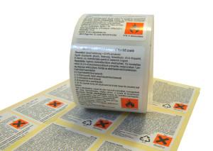 4. Výstražné etikety