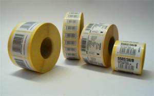 etikety s čiarovými kódmi