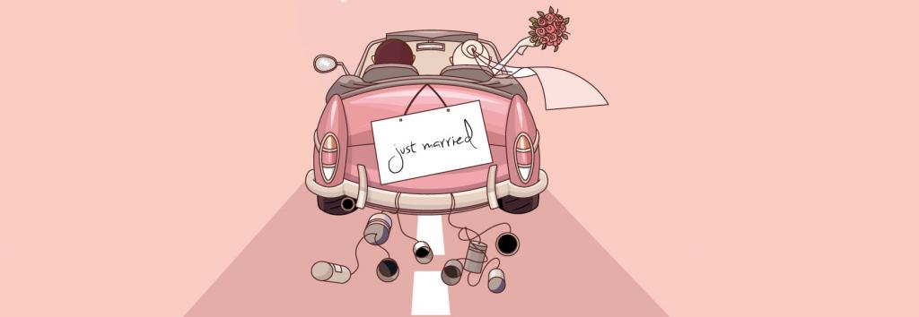 pekné svadobné oznamko