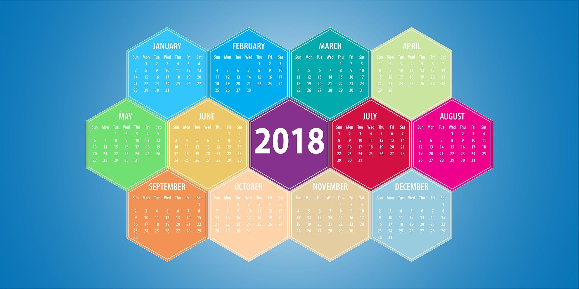 Kalendár ako dizajnový doplnok